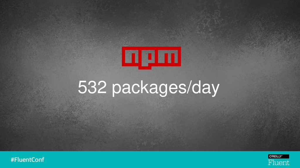 532 packages/day