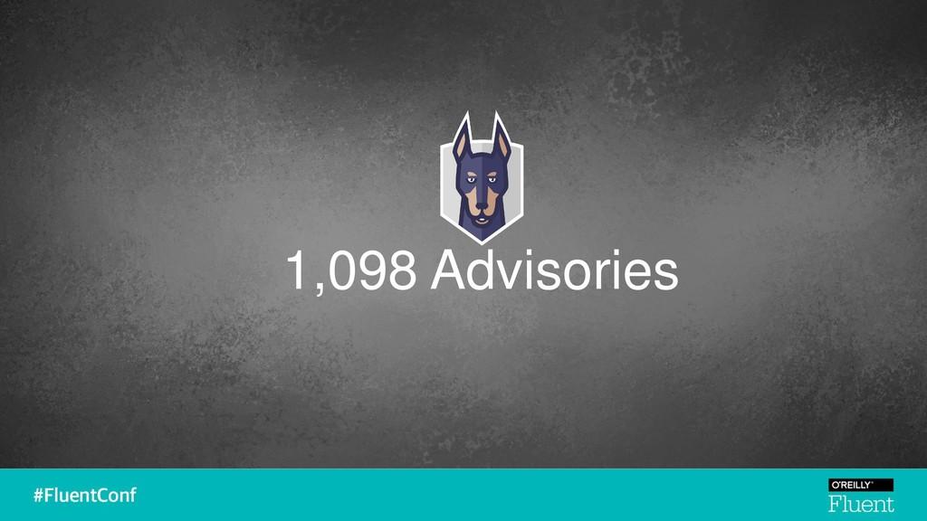 1,098 Advisories
