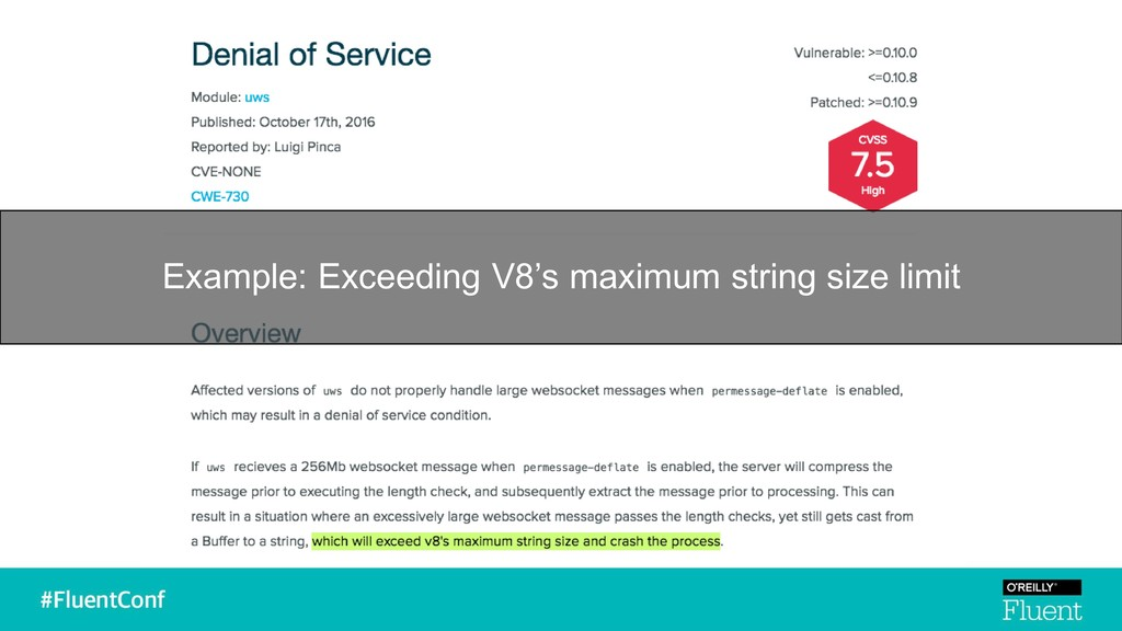 Example: Exceeding V8's maximum string size lim...