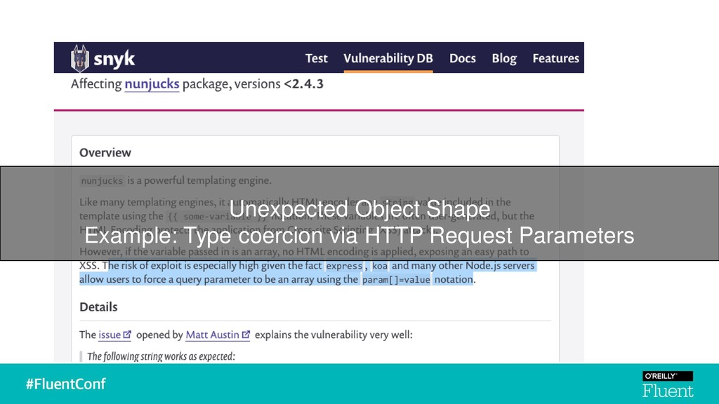 Unexpected Object Shape Example: Type coercion ...