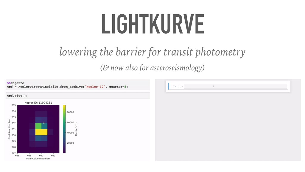 LIGHTKURVE lowering the barrier for transit pho...