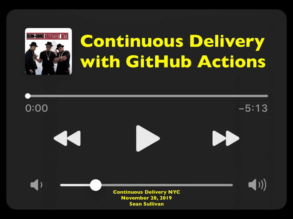 Continuous Delivery with GitHub Actions Continu...