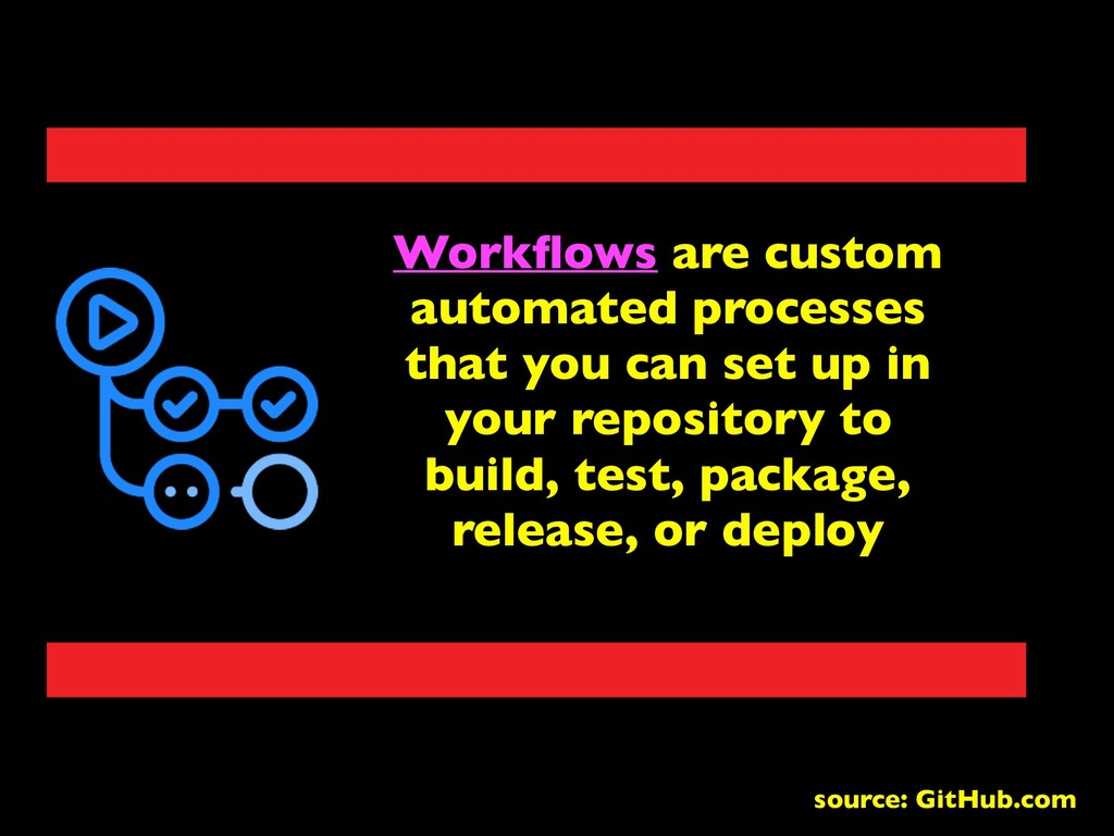 Workflows are custom automated processes that yo...