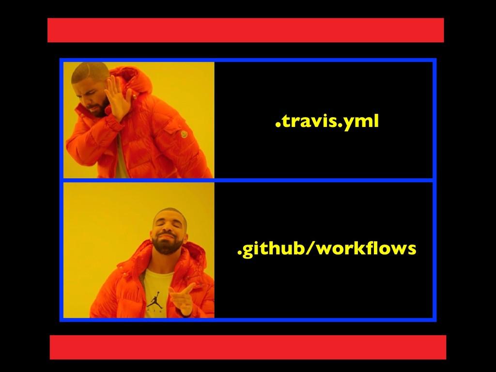 .travis.yml .github/workflows
