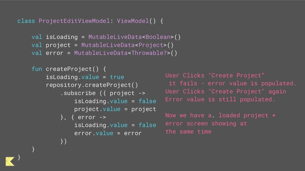 class ProjectEditViewModel: ViewModel() { val i...