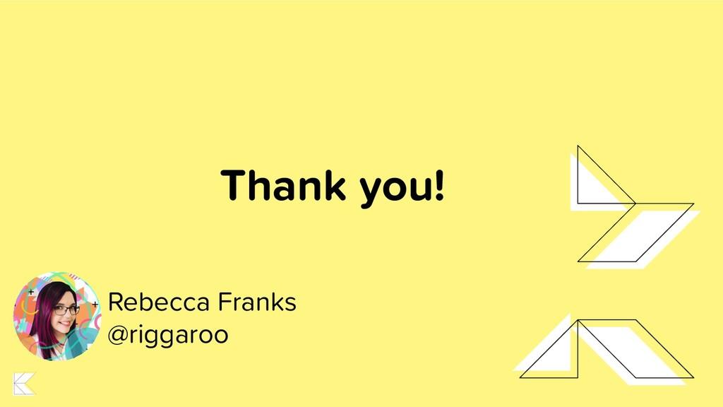 Rebecca Franks @riggaroo Thank you!