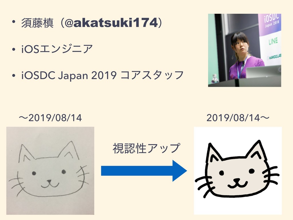 • ਢ౻ຘʢ@akatsuki174ʣ • iOSΤϯδχΞ • iOSDC Japan 20...