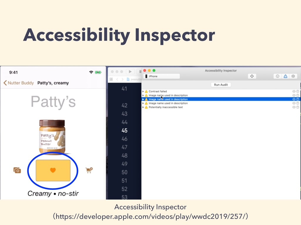 Accessibility Inspector Accessibility Inspector...