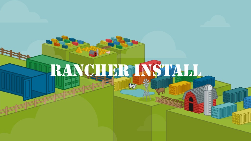 Rancher Install