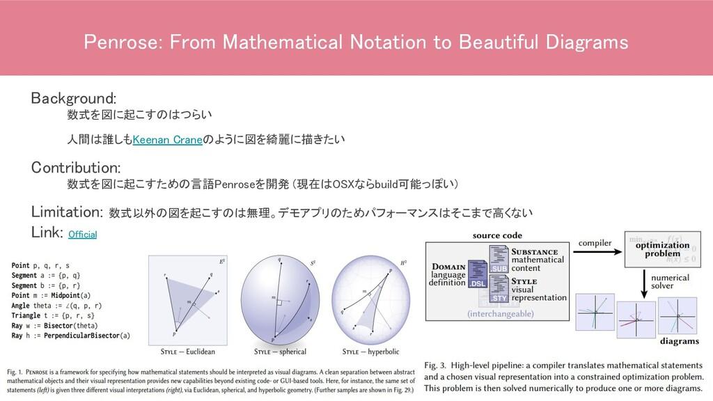 Penrose: From Mathematical Notation to Beautifu...