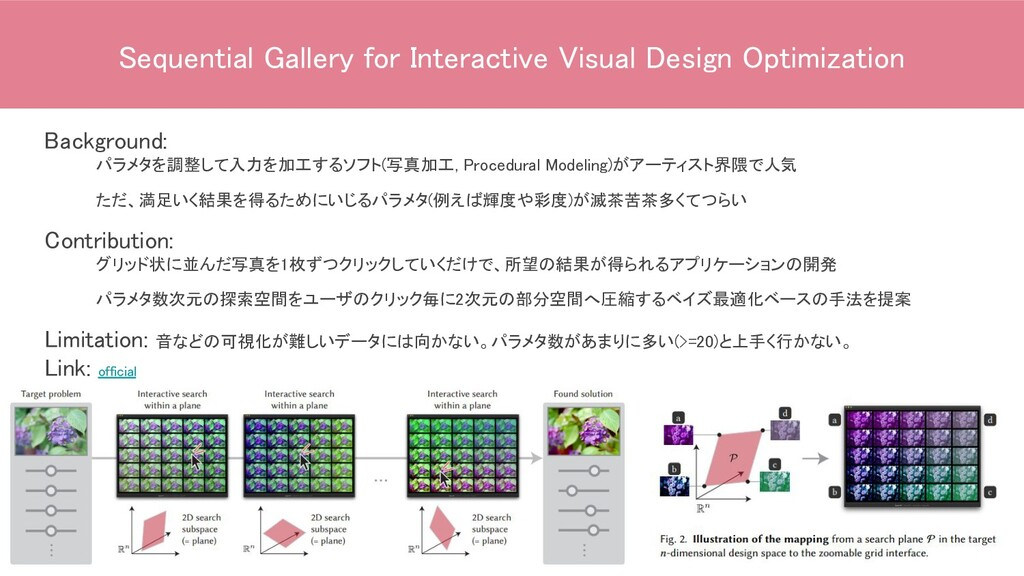 Sequential Gallery for Interactive Visual Desig...