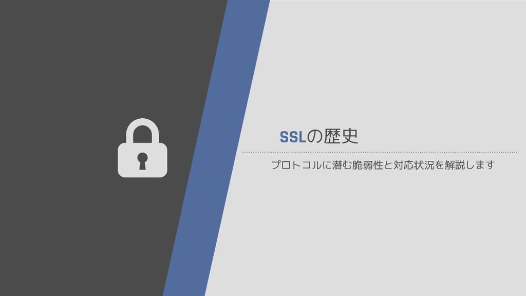 SSLの歴史 プロトコルに潜む脆弱性と対応状況を解説します