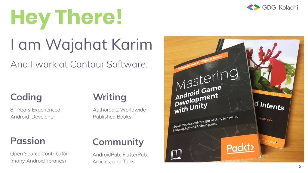 2 I am Wajahat Karim And I work at Contour Soft...
