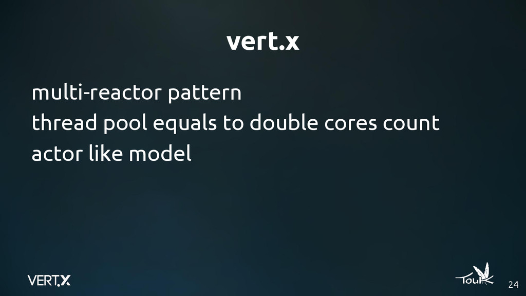 vert.x 24 multi-reactor pattern thread pool equ...