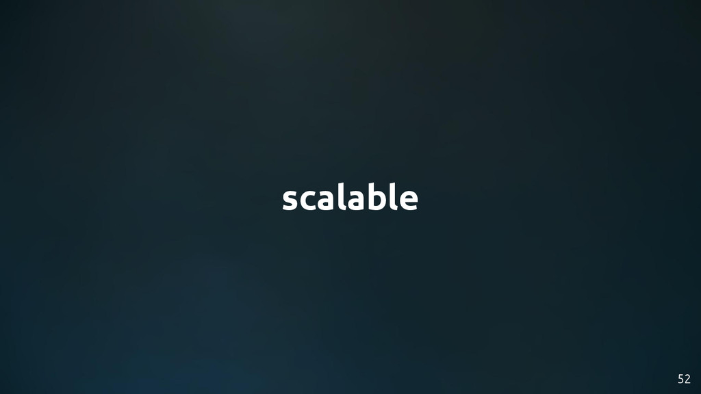 scalable 52