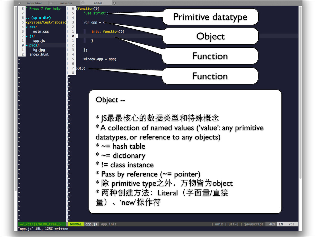 Function Object Function Object -- * JS最最核⼼心的数据...