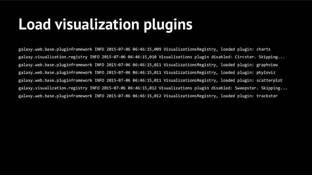 Load visualization plugins galaxy.web.base.plug...