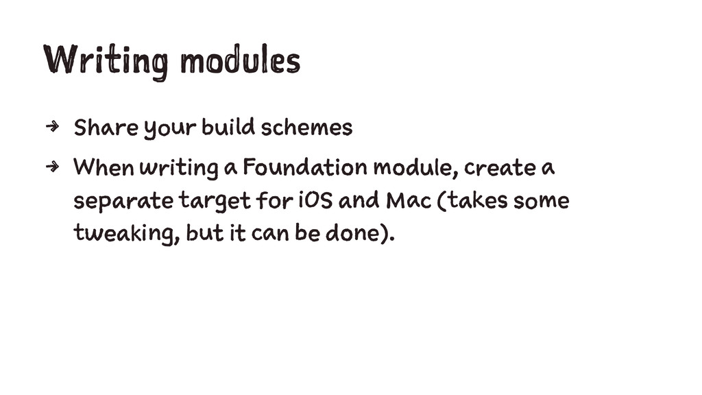 Writing modules 4 Share your build schemes 4 Wh...