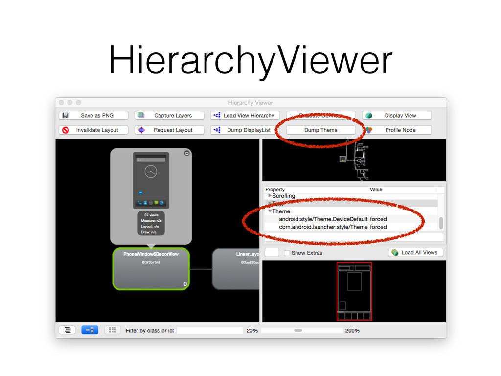 HierarchyViewer