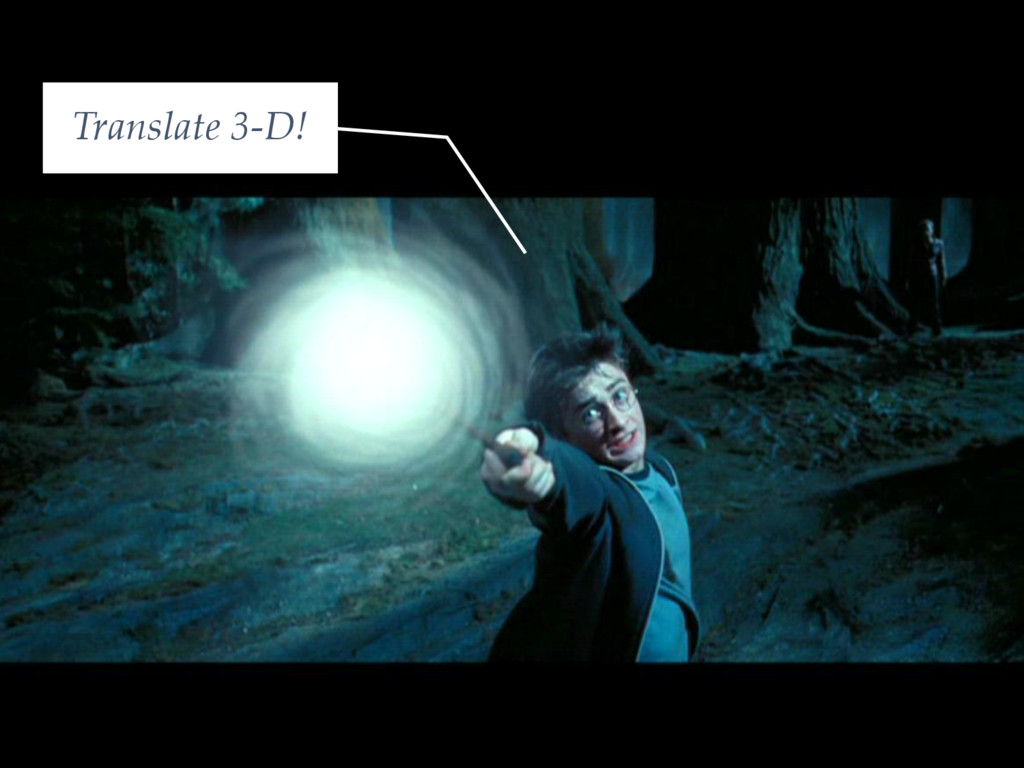 Translate 3-D!