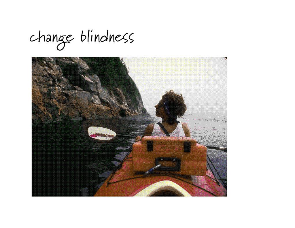 change blindness