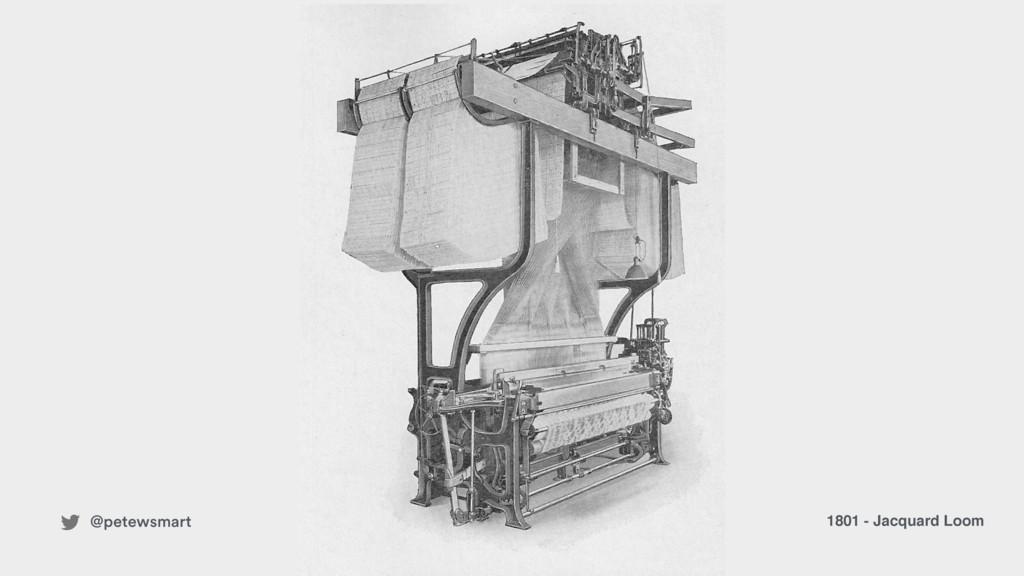 1801 - Jacquard Loom @petewsmart