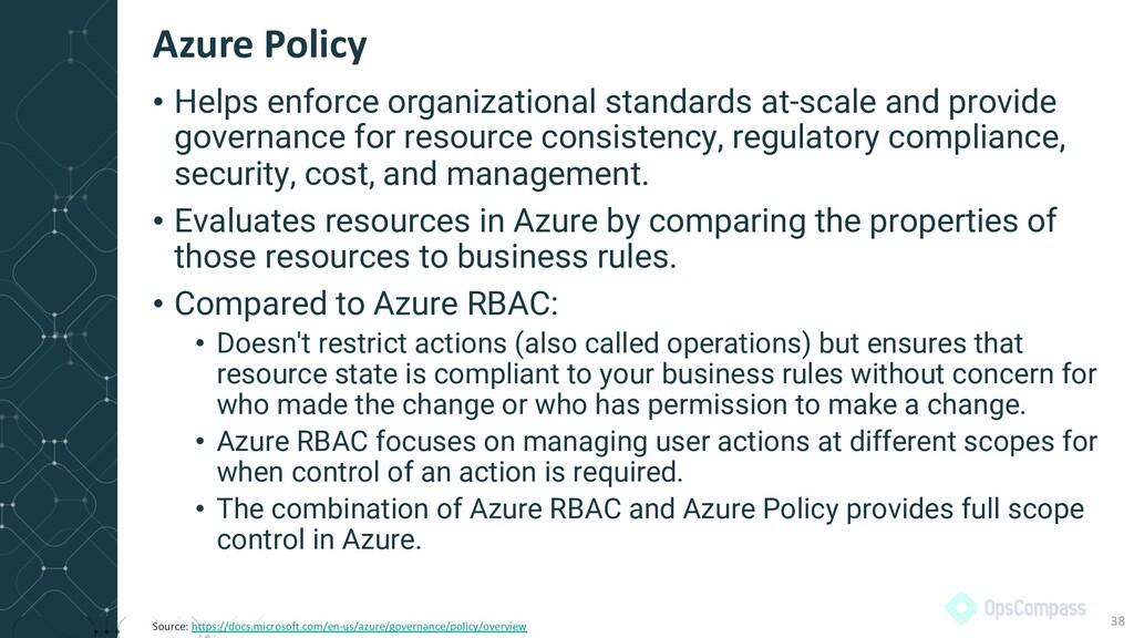 • Helps enforce organizational standards at-sca...