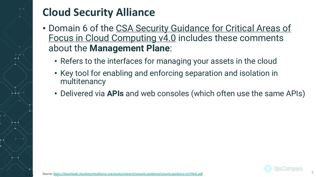 • Domain 6 of the CSA Security Guidance for Cri...