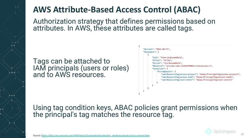 Authorization strategy that defines permissions...