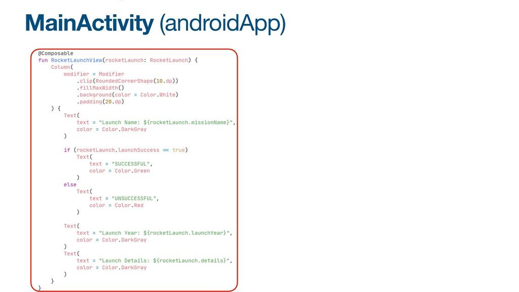 MainActivity (androidApp)