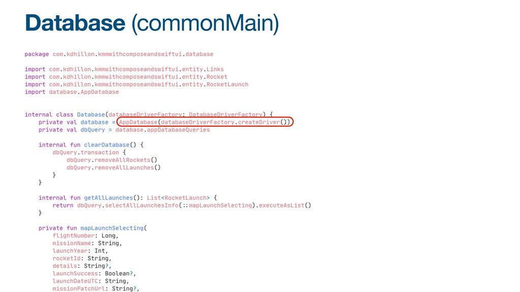 Database (commonMain)