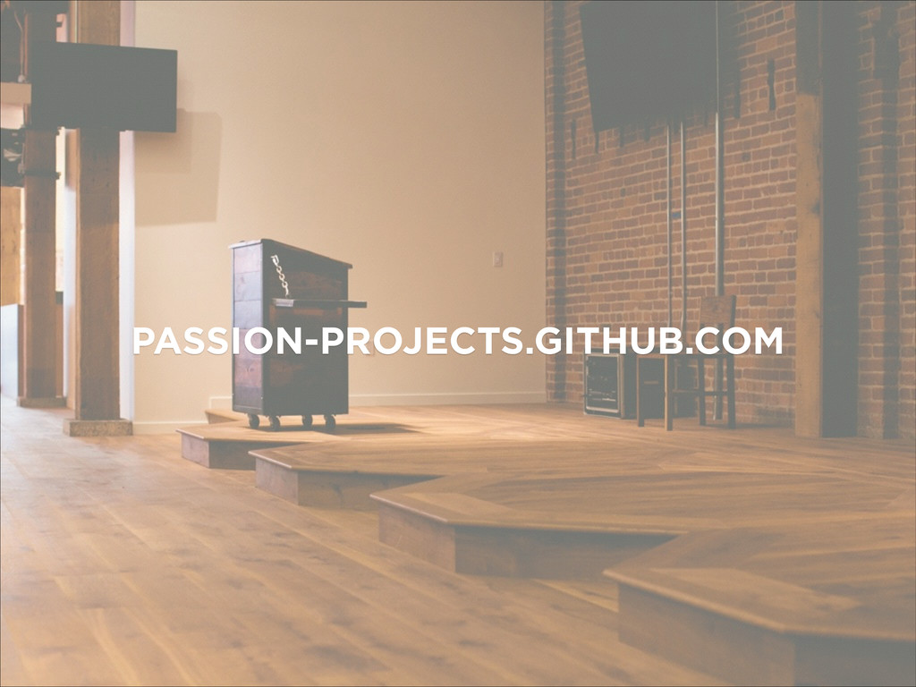 PASSION-PROJECTS.GITHUB.COM
