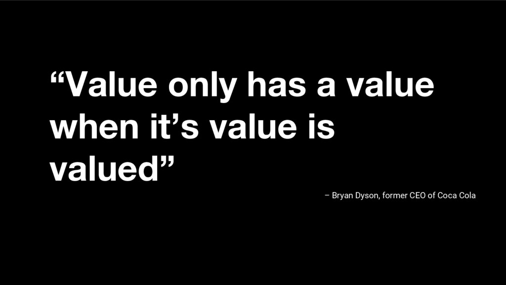 """Value only has a value when it's value is valu..."