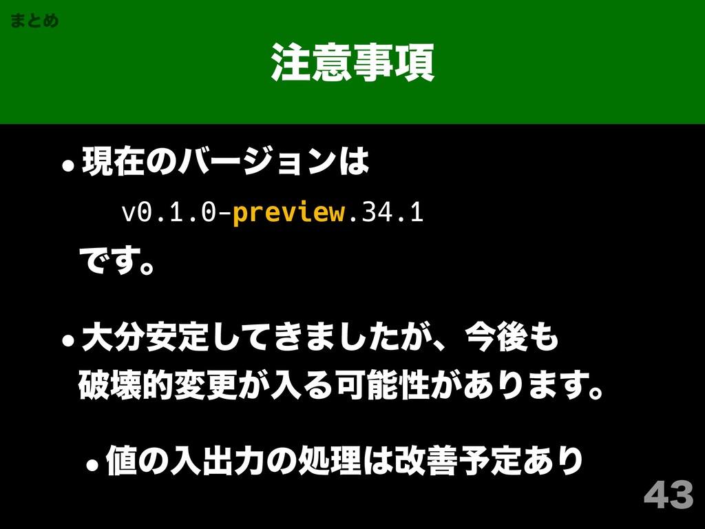 ҙ߲ ·ͱΊ wݱࡏͷόʔδϣϯ v0.1.0-preview.34.1...