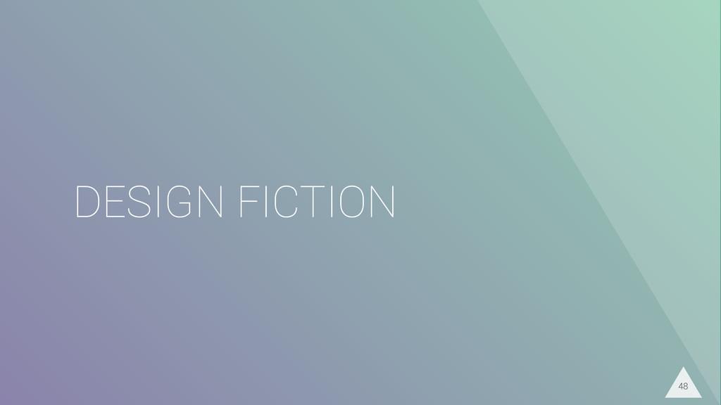 DESIGN FICTION 48