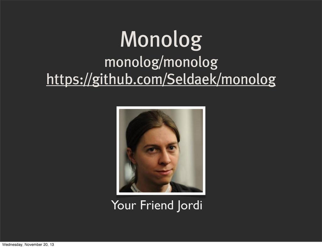 Monolog monolog/monolog https://github.com/Seld...