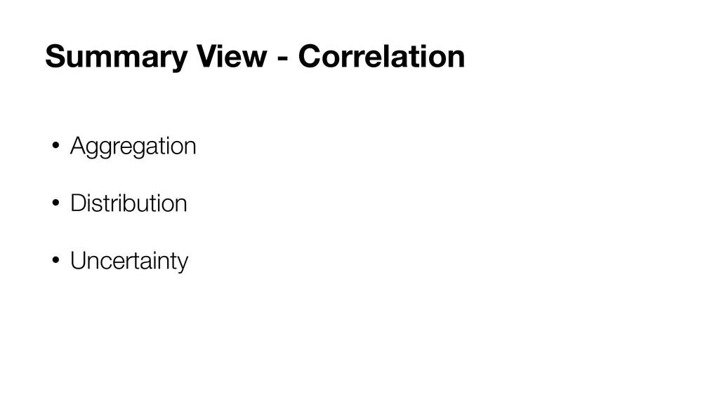 • Aggregation • Distribution • Uncertainty Summ...