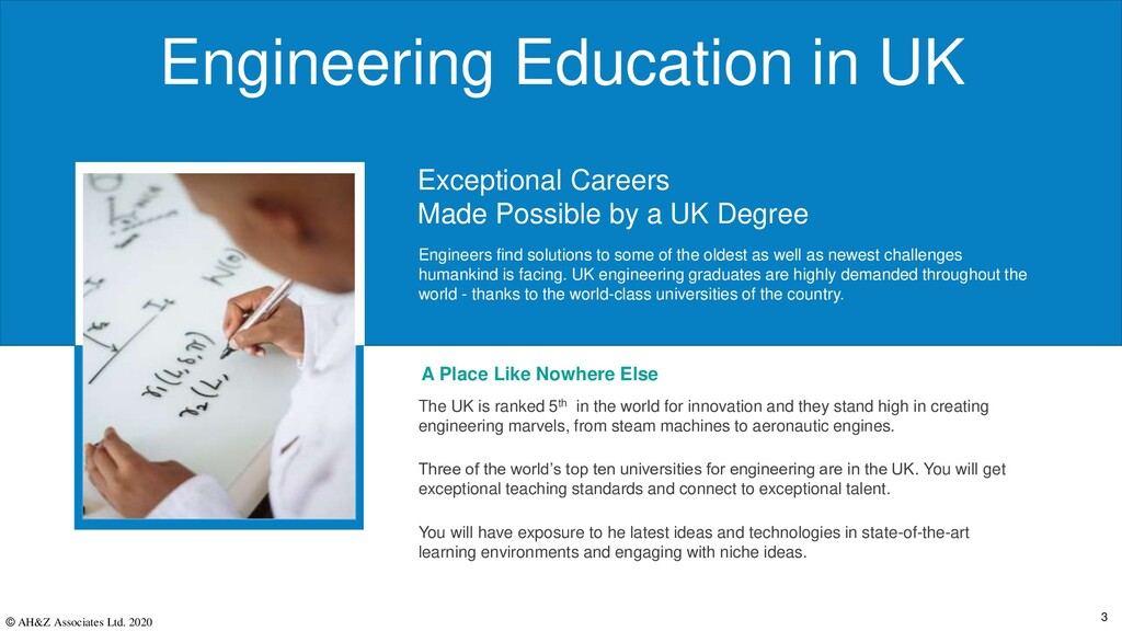 Engineering Education in UK A Place Like Nowher...