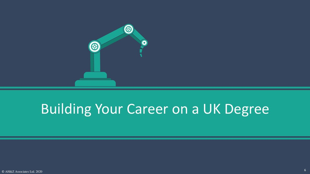 Building Your Career on a UK Degree © AH&Z Asso...