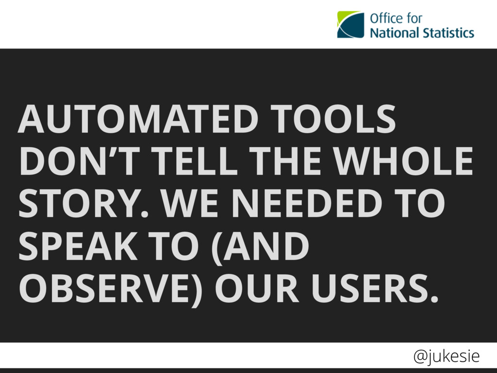 @jukesie AUTOMATED TOOLS DON'T TELL THE WHOLE S...