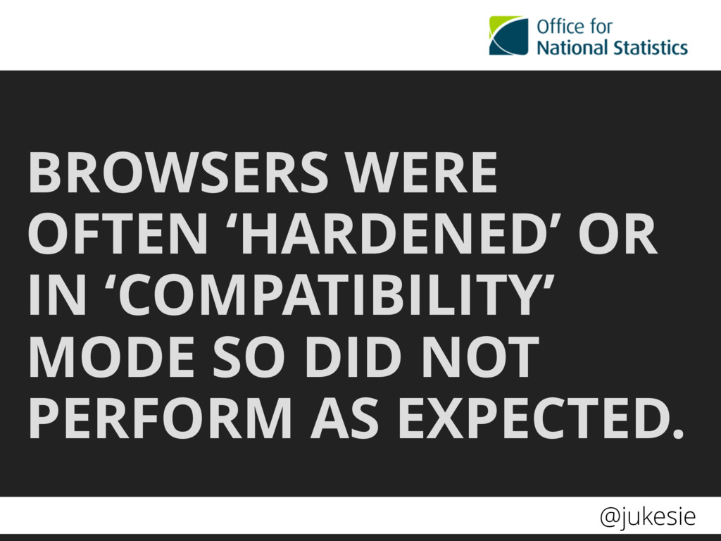 @jukesie BROWSERS WERE OFTEN 'HARDENED' OR IN '...