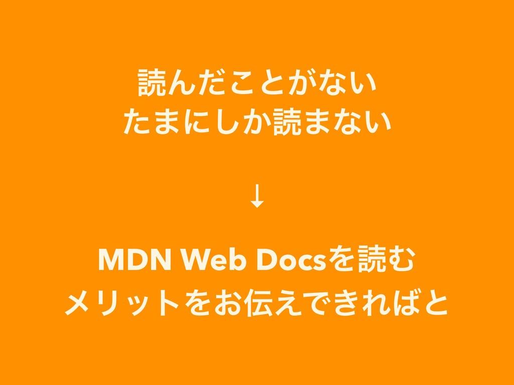 ಡΜͩ͜ͱ͕ͳ͍   ͨ·ʹ͔͠ಡ·ͳ͍   ↓   MDN Web DocsΛಡΉ   ϝϦ...