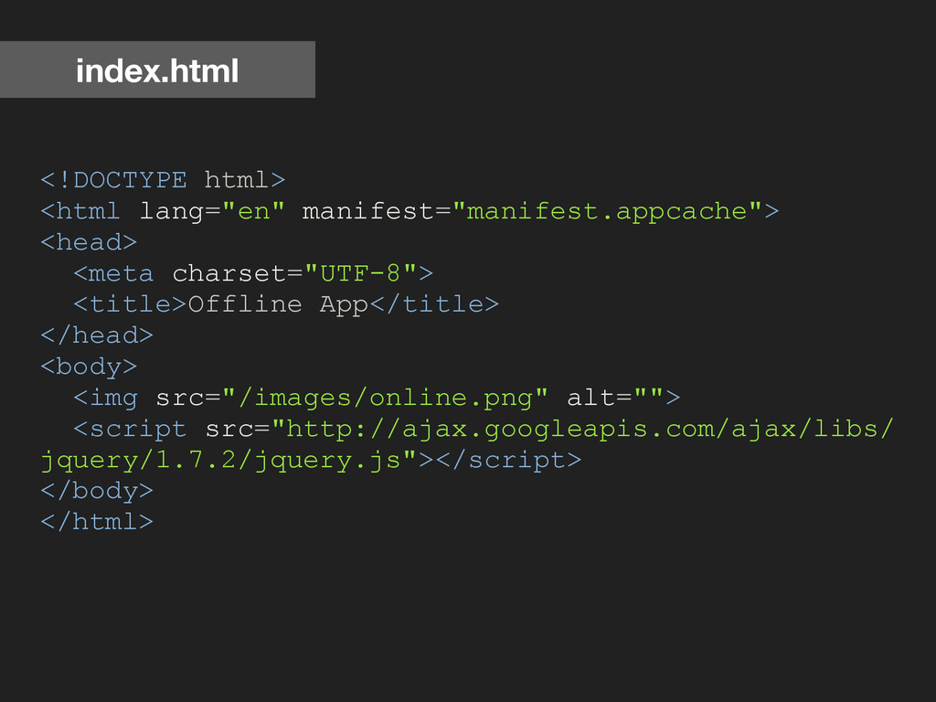 """<!DOCTYPE html> <html lang=""""en"""" manifest=""""manif..."""