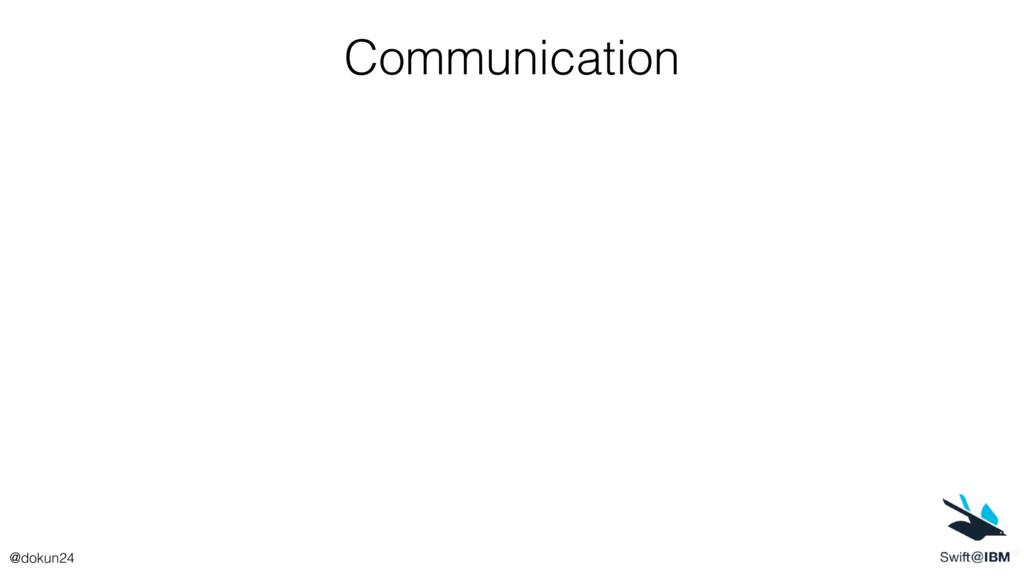 Communication @dokun24