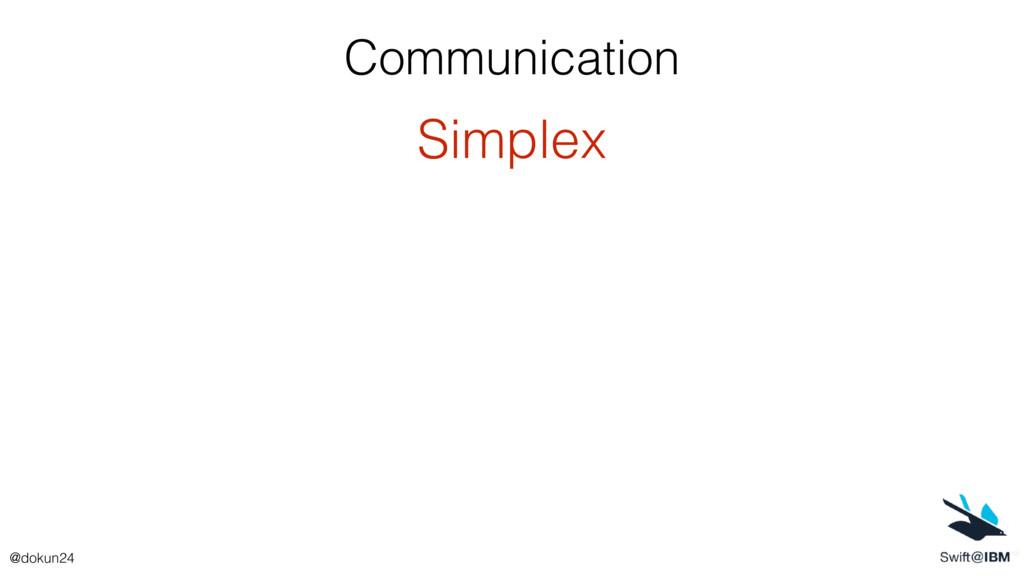 Communication Simplex @dokun24