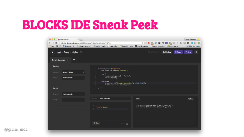 @girlie_mac BLOCKS IDE Sneak Peek