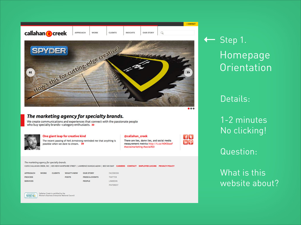 ← Homepage Orientation Step 1. Details: ! 1-2 m...