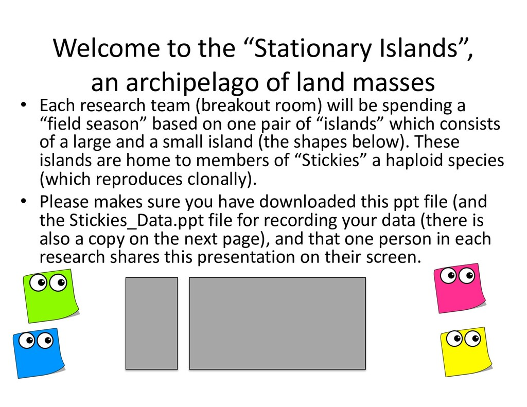 """Welcome to the """"Stationary Islands"""", an archipe..."""