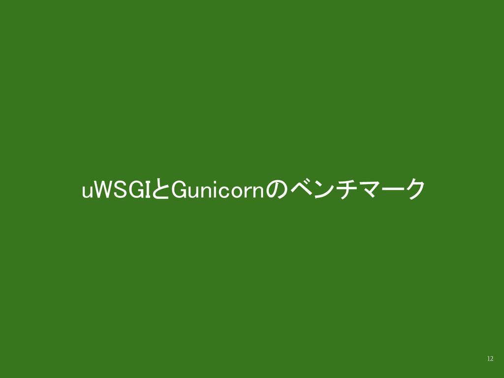 uWSGIとGunicornのベンチマーク 12