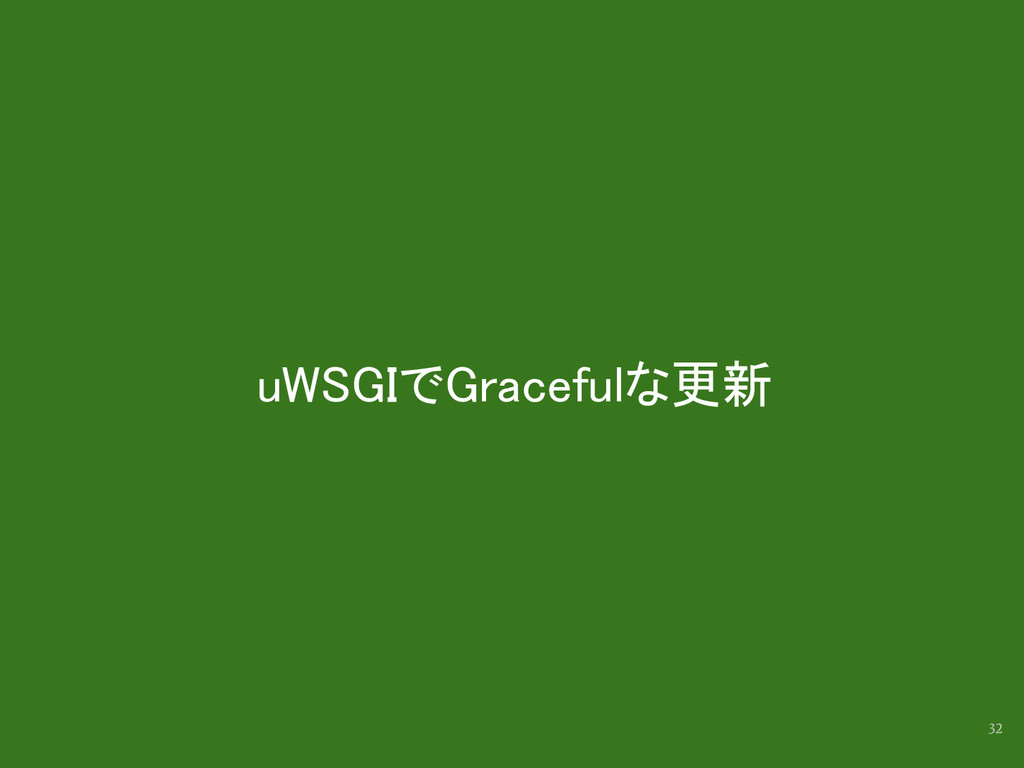 uWSGIでGracefulな更新 32